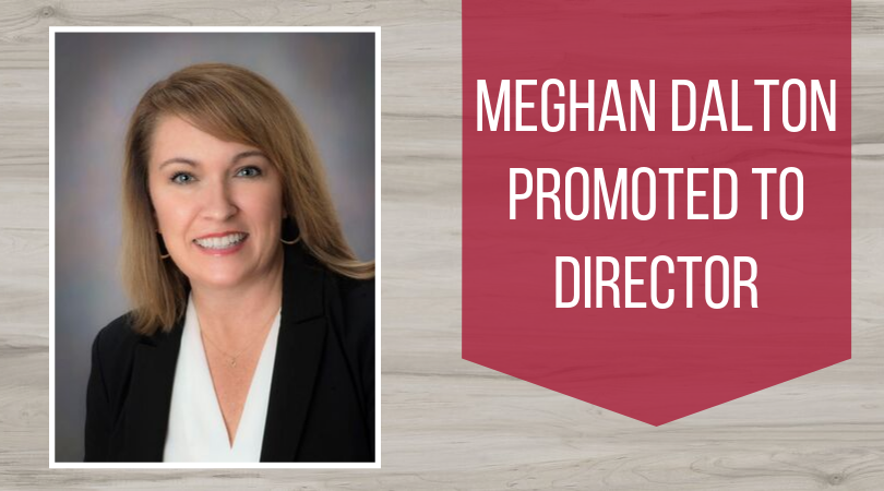 Meghan Dalton is promoted to Director